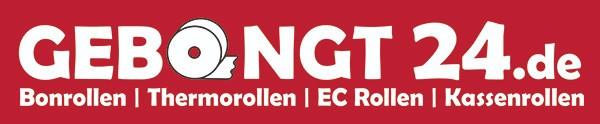 Gebongt24 - Onlineshop für Bonrollen, Thermorollen, Kassenrollen und EC-Cash Rollen